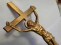 Cruce bronz Isus