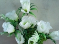 Trandafir alb buchet mare
