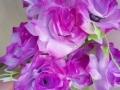 Trandafir mov buchet mare
