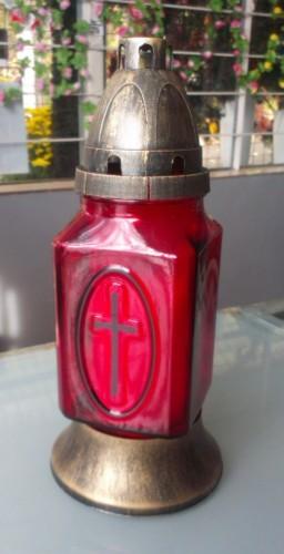 Candela cruce rosu