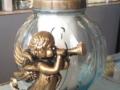 Candela Inger cu trombita alb 1