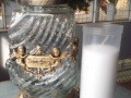 Candela transparent cu 2 inger si rezerva