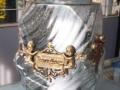 Candela transparent cu 2 inger