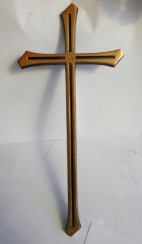 Cruce bronz simplu