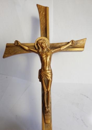 Cruce bronz Isus 2