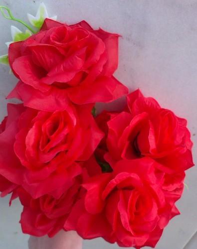 Trandafir rosu buchet mare 2