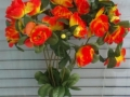 Trandafir portocaliu buchet mic