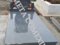 Monument si cadru + placa din granit gei inchis