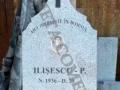 Monument funerar ortodix din granit gri deschi + gravura